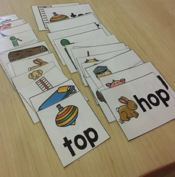 Short Vowel Flashcards - Short O CVC Word Families - Phonics Flashcards