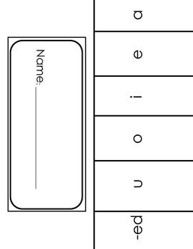 Short Vowel Flipbook