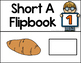 Short Vowel Flipbooks SHORT A; 5 CVC Flipbooks Included!