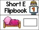 Short Vowel Flipbooks SHORT E; 5 CVC Flipbooks Included!