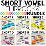 Short Vowel Flipbooks THE BUNDLE; 35 CVC Flipbooks Included!