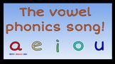 Short Vowel Flipchart for Promethean Board