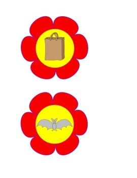 Short Vowel Flowers
