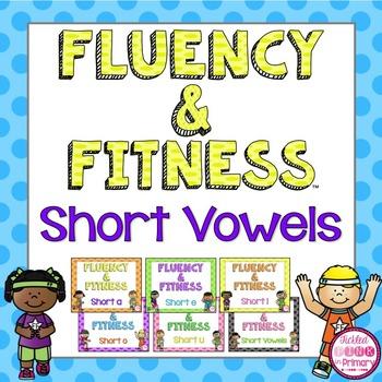 Short Vowels Fluency & Fitness Brain Breaks Bundle
