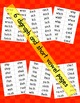 Short Vowel Fluency Pages