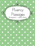 Short Vowel Fluency Passages