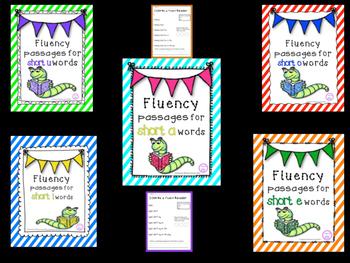 Short Vowel Fluency Pyramid BUNDLE