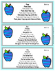 Short Vowel Fluency Sentence Pyramids