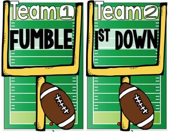 Short Vowel Football BUNDLE