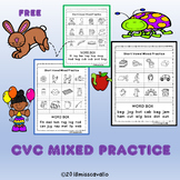 SHORT VOWEL MIXED PRACTICE FREE
