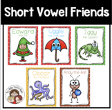 Short Vowel Friends Posters Pack