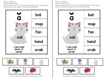 Short Vowel Fun Pack: Puzzles and Interactive Notebook
