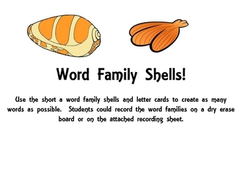 Short Vowel:  Fun with short a