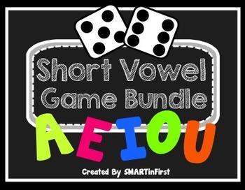 Short Vowel Game Bundle