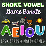 Short Vowel Game Bundle
