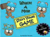 Short Vowel Game Whack a Mole