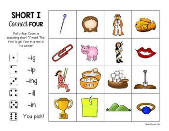 Short Vowel Games