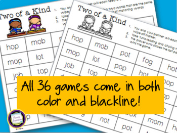 Short Vowel Games Bundle