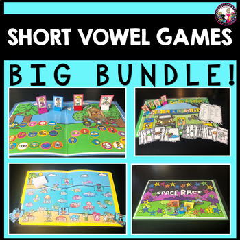 Short Vowel Games-MEGA BUNDLE!