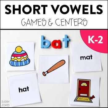 Short Vowel Games and Activities