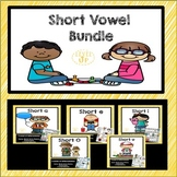 Short Vowel Games and Word Sorts Bundle