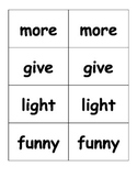 First Grade High Frequency Word Go Fish Game