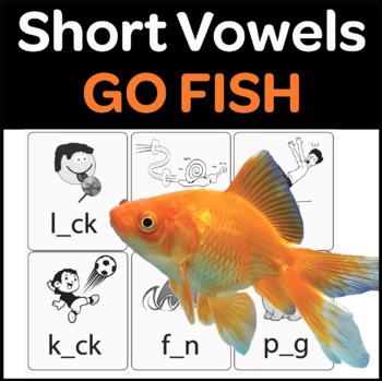 Short Vowel Go Fish Game