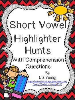 Short Vowel Highlighter Hunt