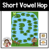 Short Vowel Hop Game