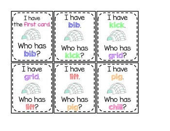 "Short Vowel ""I"" Activities"