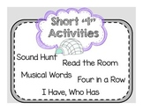 """Short Vowel """"I"""" Activities"""