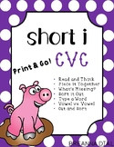 Short Vowel I CVC Activities