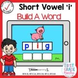 Digital Short Vowel I CVC Build A Word Boom Cards℠