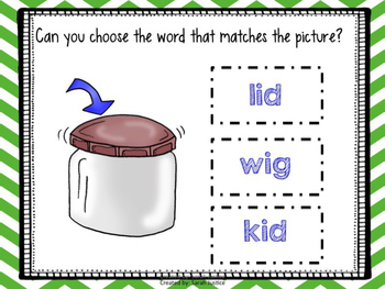 Short Vowel (I) Interactive Power-Points