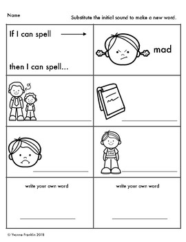 Short Vowel: If I can spell
