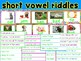 Short Vowel Inference Riddles Bundle
