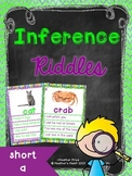 Short Vowel Inference Riddles: Short A