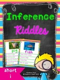 Short Vowel Inference Riddles: Short I