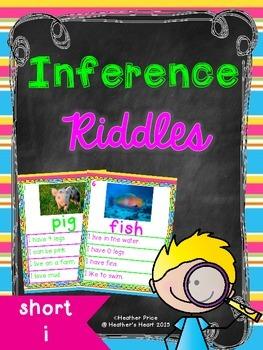 Short Vowel Inference Riddles: Short I