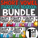 Short Vowel Interactive Notebook Bundle