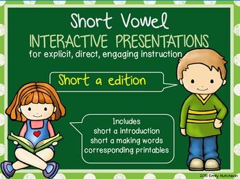 Short Vowel Interactive Presentations for Explicit Instruction (short a edition)