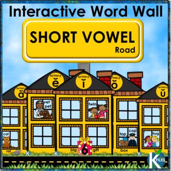 Short Vowel Interactive Word Wall