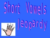 Short Vowel Jeopardy Game