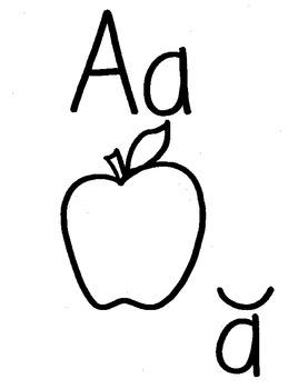 Short Vowel Keywords and Anchor Chart