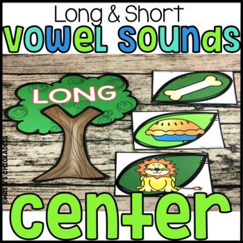 Long Vowel & Short Vowel Center Sort: Hands on Activity