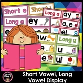 Short Vowel, Long Vowel Display