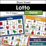 Short Vowel Lotto