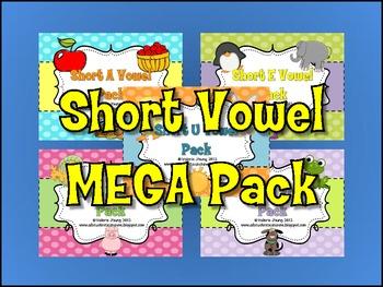 Short Vowel MEGA Pack