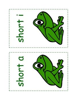 Short Vowel Matching Game