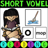 Short Vowel Matching Picture Cards for Literacy Workstations